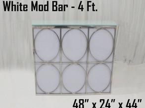 White Mod Bar - 4Ft.