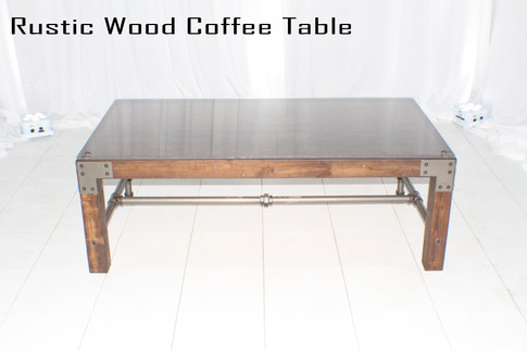 Rustic Wood Coffee Table