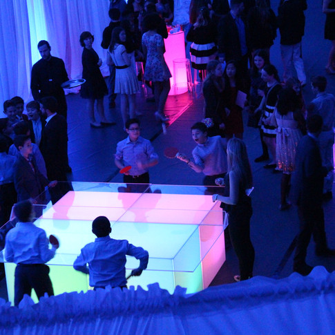 LED Four Player Ping Pong