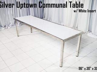 Silver Uptown Communal Table White Insert.jpg