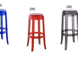 Ghost Stools - Blue/Red/Smoke