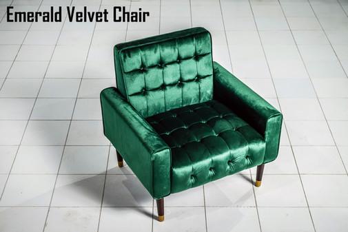 Emerald Velvet Chair