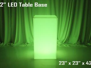"""LED Table Base - 42"""""""