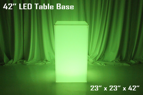 42 Inch LED Table Base