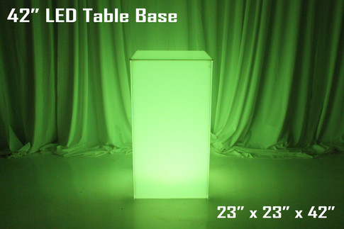 42 Inch LED Table Base