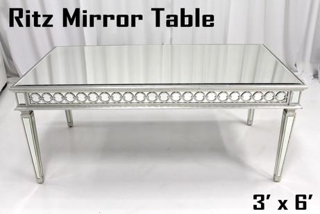Ritz Mirror Table