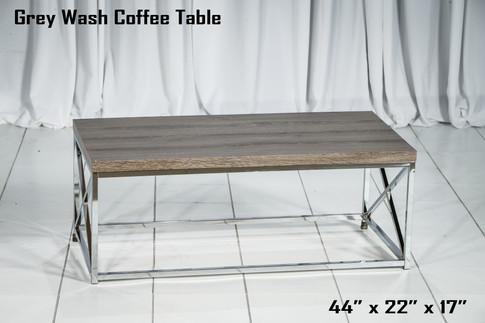 Grey Wash Coffee Table