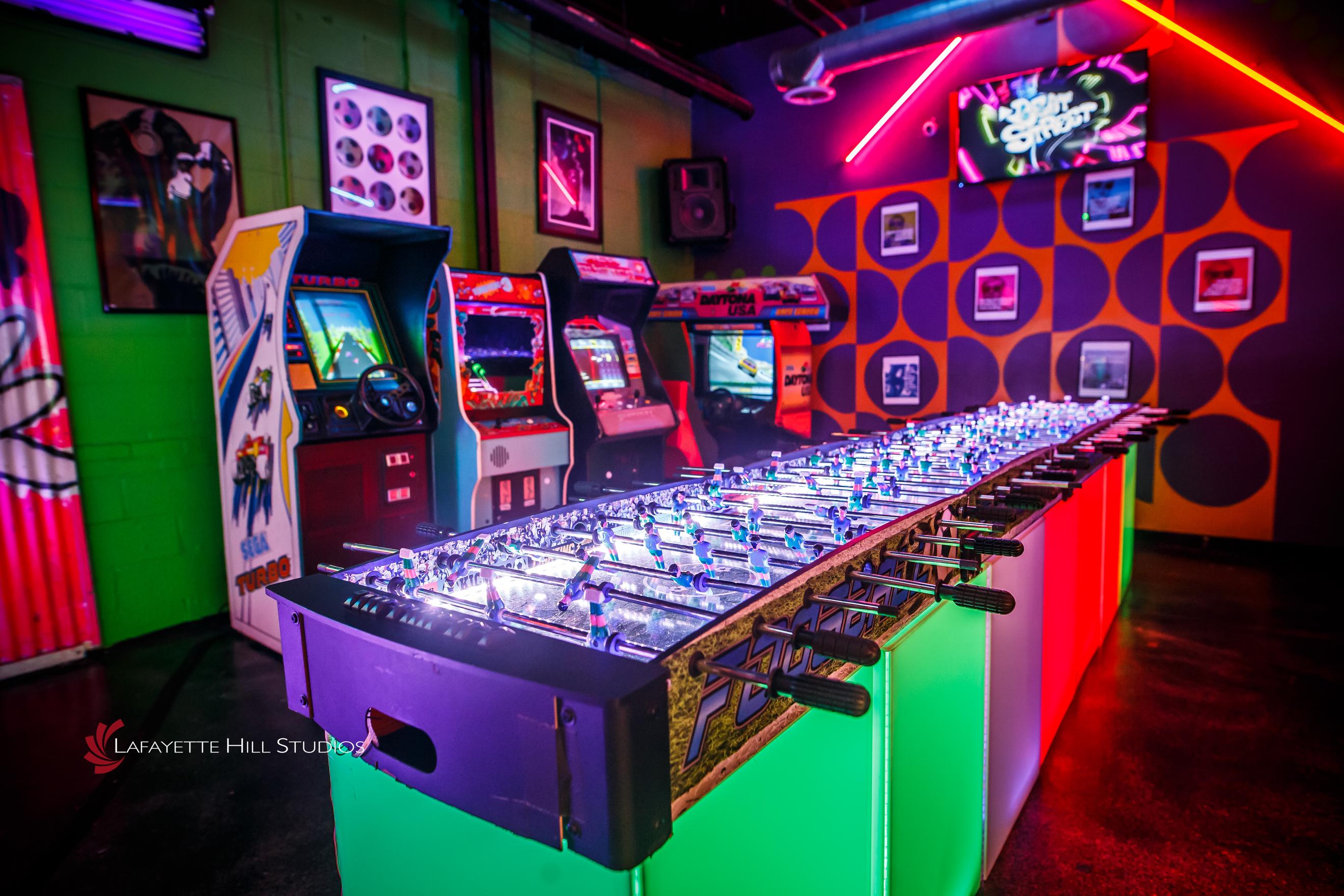 LED 20 Player Foosball