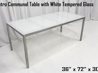 Metro Dinner Table