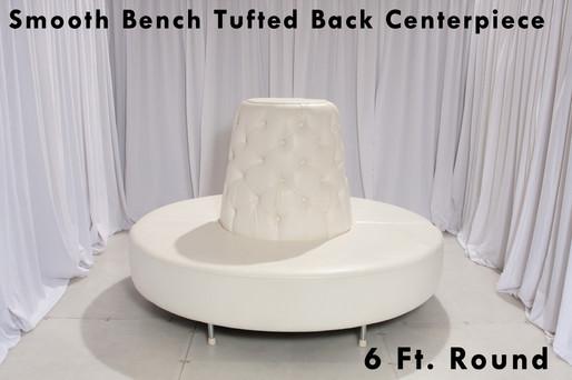 White Leather Centerpiece