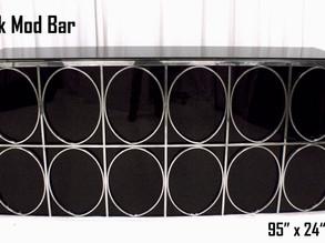 Black Mod Bar - 8Ft.