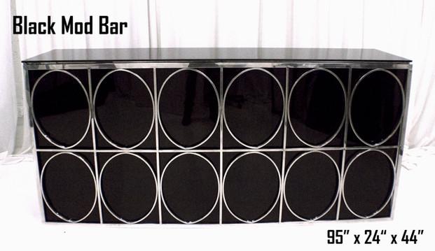 Black Mod Bar 8Ft.
