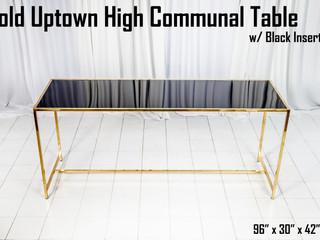 Gold Uptown High Communal Table Black Insert.jpg