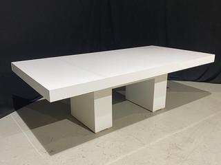 EP White Acrylic 4' x 8' Dinner Table
