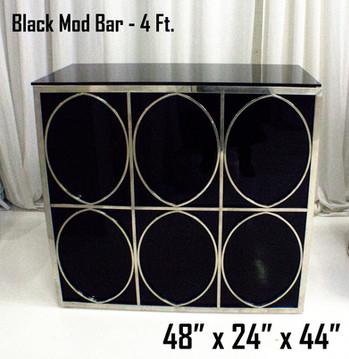 Black Mod Bar 4Ft.