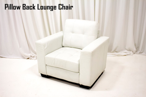 Pillow Back Lounge Chair