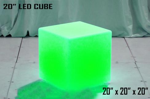 20 Inch LED Cube