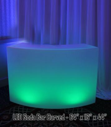 LED Soda Bar Curved