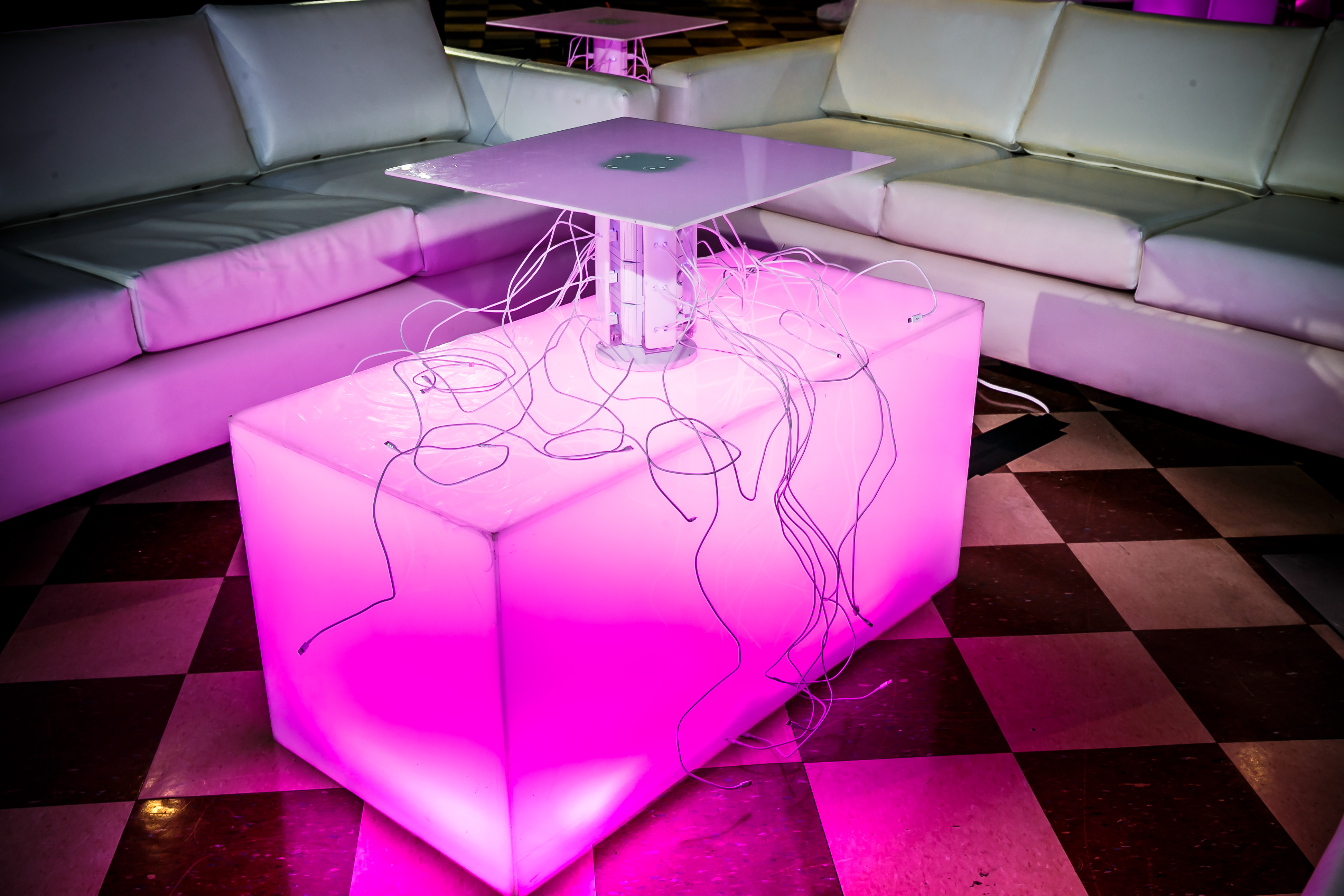 LED Charging Station