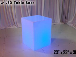 "LED Low Table Base - 30"""