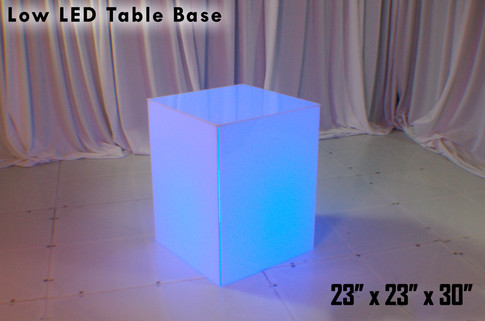 30 Inch Low Table Base