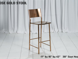 Rose Gold Stool