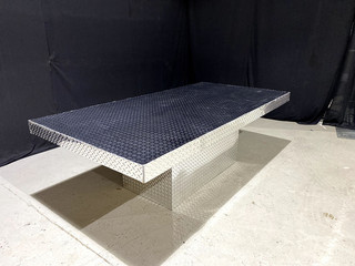 Diamond Plate 4' x 8' Dinner Table