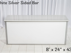White Silver Sided Bar