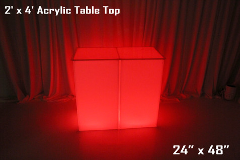 2 x 4 Acrylic Table Top