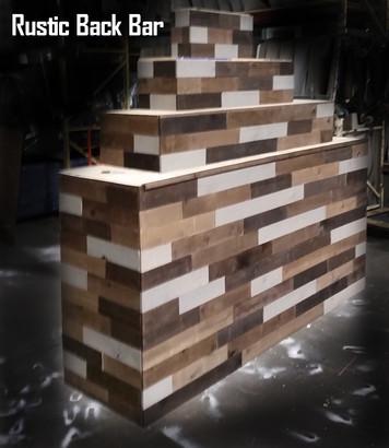 Rustic Back Bar
