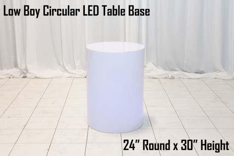30 Circular LED Table Base