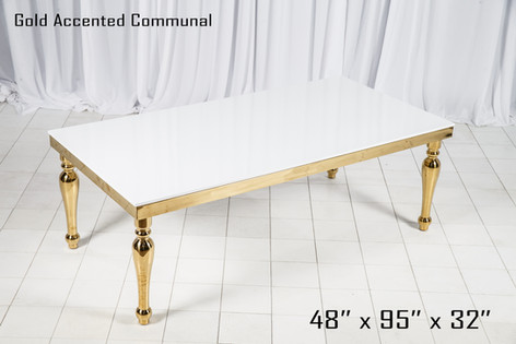Gold Accented Communal