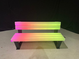 LED Park Bench