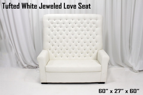 Jeweled Love Seat