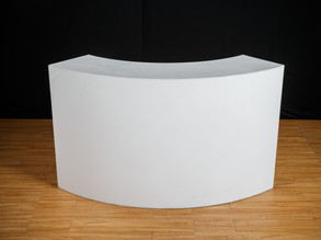 """Acrylic Curved  Bar - 72"""""""