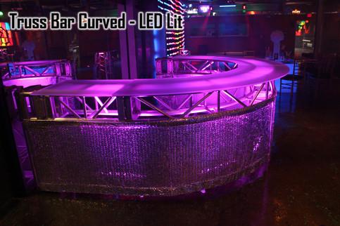 Truss Bar Curved LED Lit