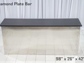 Diamond Plate Bar