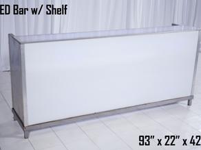LED Bar With Shelf - 8Ft.
