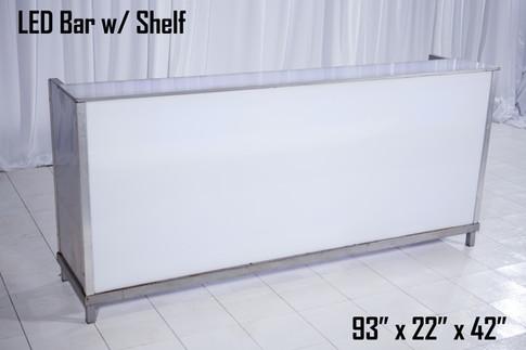 LED Bar With Shelf