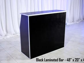 Black Laminated Bar