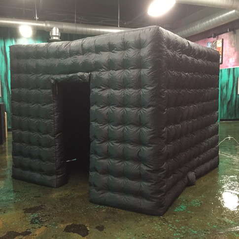 Black Inflatable Cube