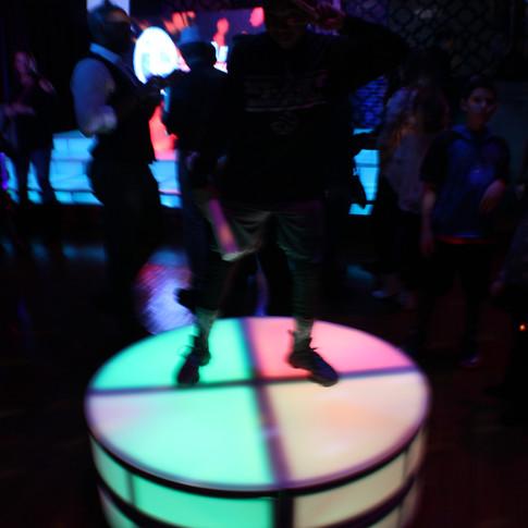 LED Dance Platforms