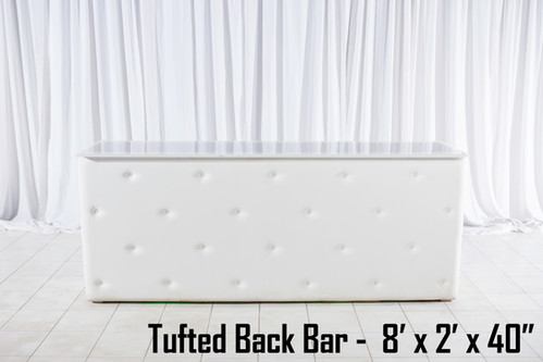 Tufted Back Bar