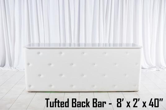 Tufted Back Bar