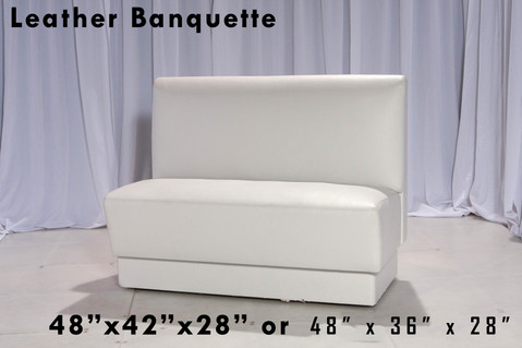 Leather Banquette