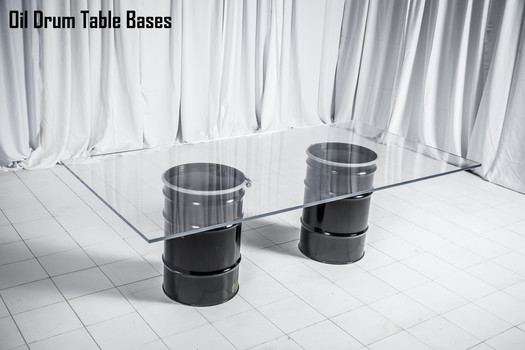 Oil Drum Table Base