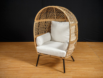 Wicker Cage Chair
