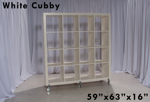 White cubby