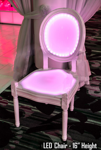 LED Chair - Armless