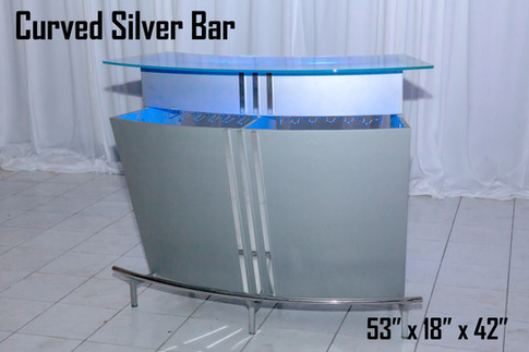 Curved Silver Bar